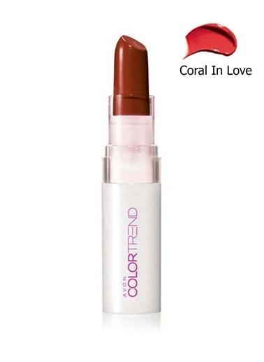 Avon Color Trend Kiss N Go Ruj Coral In Love Kırmızı